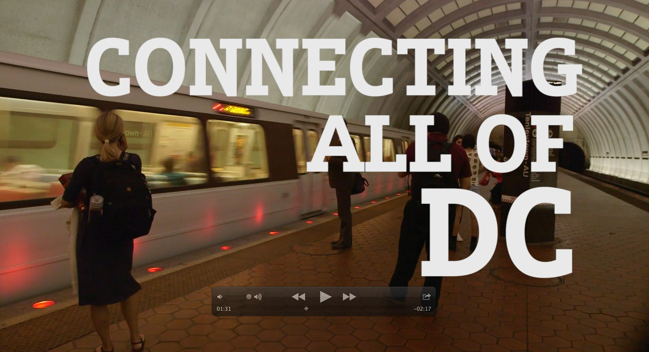 connecting all of dc